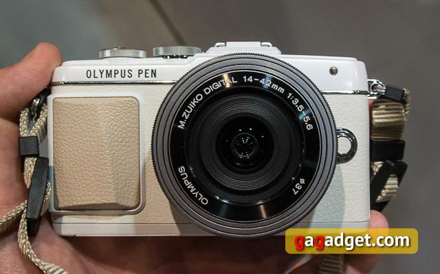 Photokina 2014. Новинки Olympus: Pen E-PL7, серебристый OM-D и M.Zuiko 40-150/2.8 PRO-2