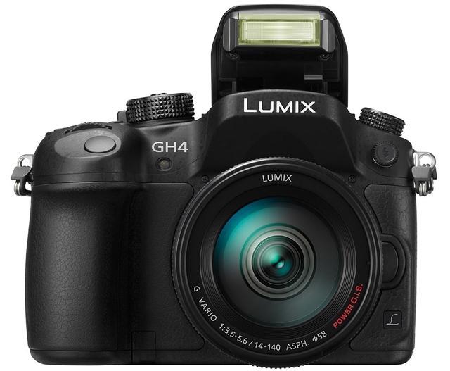 Беззеркальная камера Panasonic Lumix DMC-GH4 с возможностью видеозаписи в 4K
