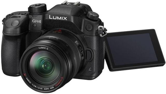 Беззеркальная камера Panasonic Lumix DMC-GH4 с возможностью видеозаписи в 4K-4