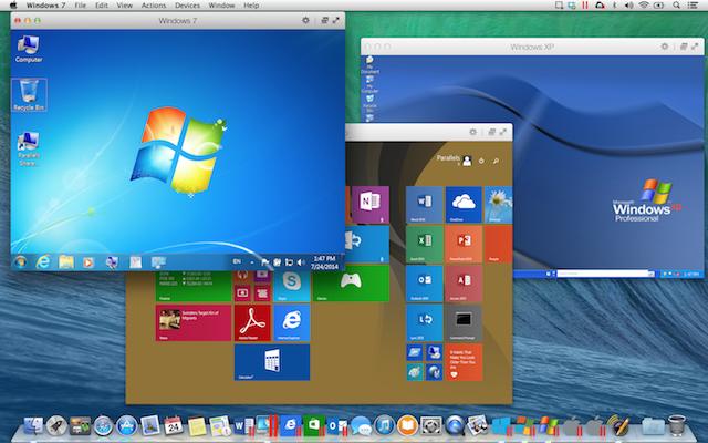 Записки маковода: обзор Parallels Desktop 10