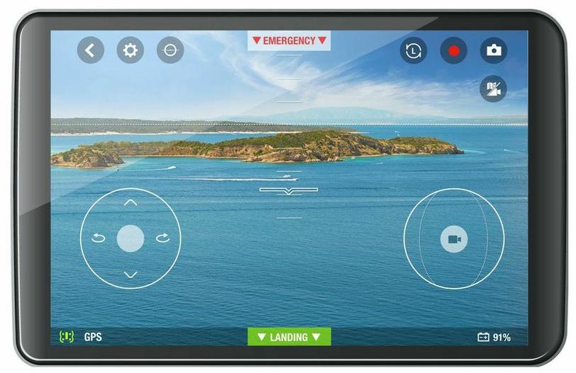 Квадрокоптер Parrot Bebop с оптикой «Fisheye» и возможностью съемки в FullHD в продаже с декабря-2