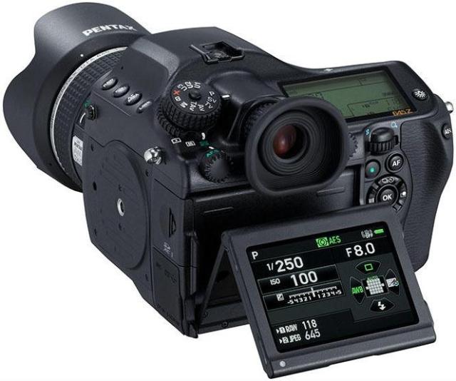 Ricoh анонсировала среднеформатную камеру Pentax 645Z-2