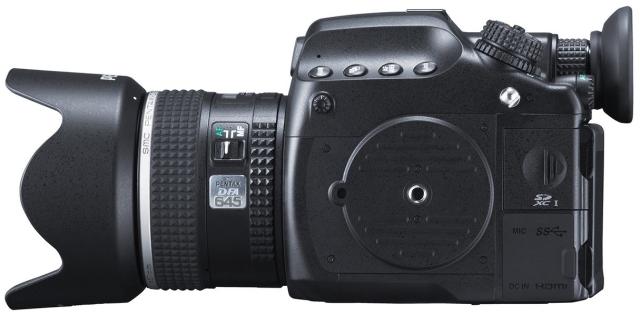 Ricoh анонсировала среднеформатную камеру Pentax 645Z-5