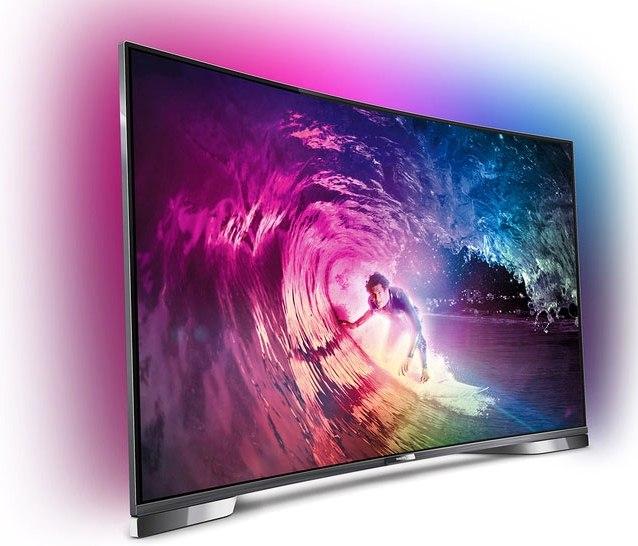И Philips туда же: компания представила серию изогнутых Ultra HD 4K телевизоров Philips 8900