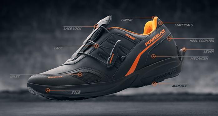 Кроссовки Powerlace автоматически завязывают шнурки без какой-либо электроники