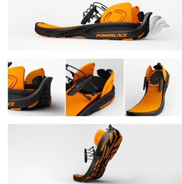 Кроссовки Powerlace автоматически завязывают шнурки без какой-либо электроники-2