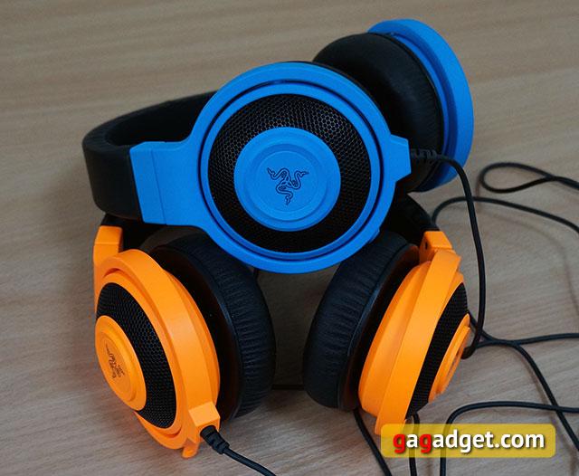 Голубой кракен: обзор игровой гарнитуры Razer Kraken Pro Neon