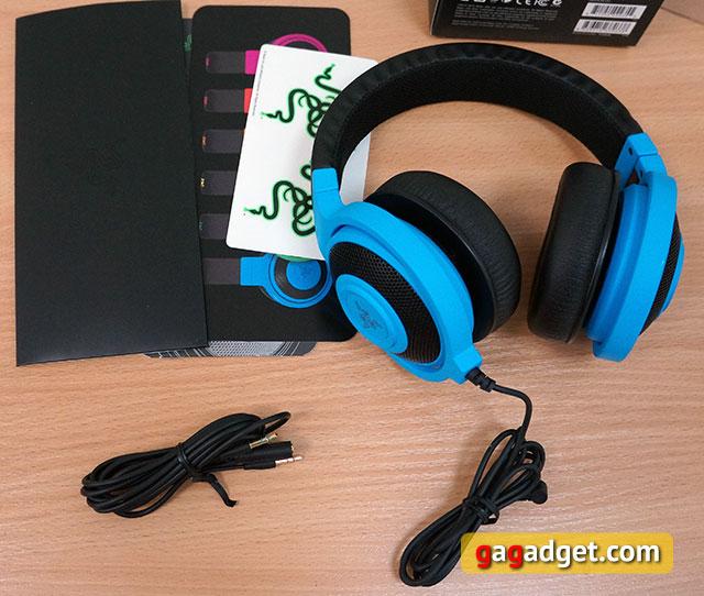 Голубой кракен: обзор игровой гарнитуры Razer Kraken Pro Neon-3