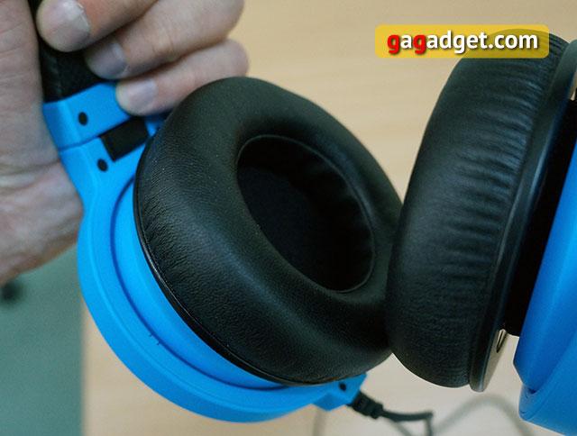 Голубой кракен: обзор игровой гарнитуры Razer Kraken Pro Neon-5