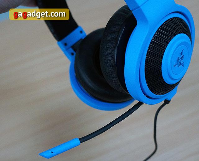 Голубой кракен: обзор игровой гарнитуры Razer Kraken Pro Neon-8