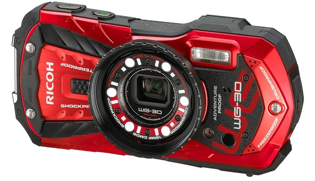 Ricoh анонсировала всепогодные компактные камеры WG-30 и WG-30W