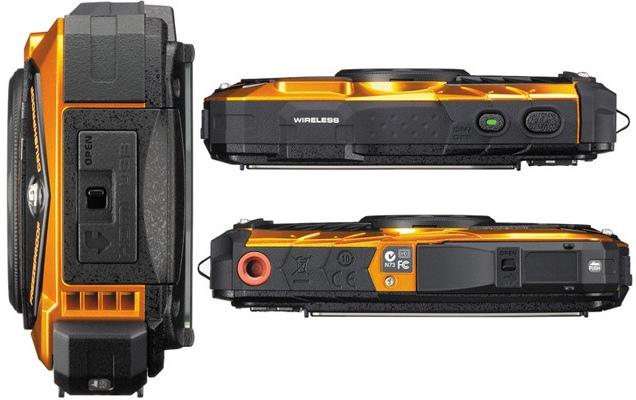 Ricoh анонсировала всепогодные компактные камеры WG-30 и WG-30W-2