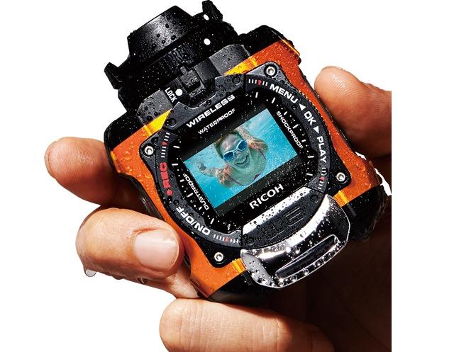Ricoh WG-M1: брутальная экшн-камера для экстремального отдыха