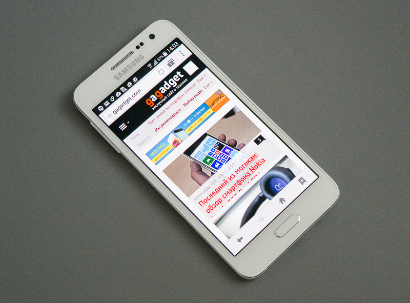 В красивой обёртке. Обзор Android-смартфона Samsung Galaxy A3-2