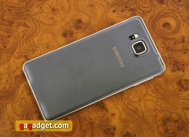 Обзор Samsung Galaxy Alpha-5