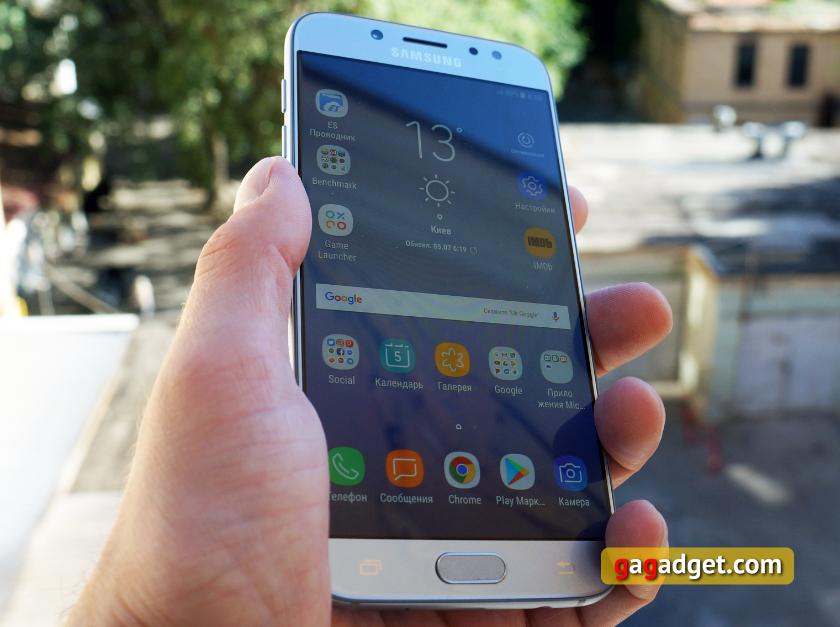 Обзор Samsung Galaxy J7 (2017): скромняга с амбициями-12
