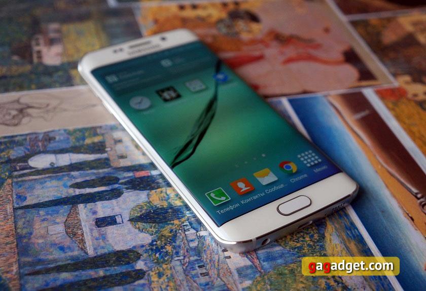 Обоюдоострый: обзор Samsung Galaxy S6 Edge-2