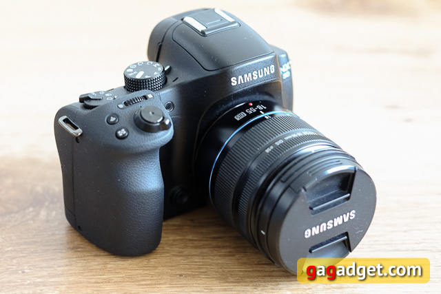 Обзор беззеркальной камеры Samsung NX30-2