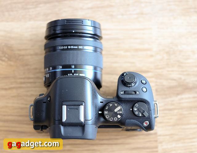 Обзор беззеркальной камеры Samsung NX30-7
