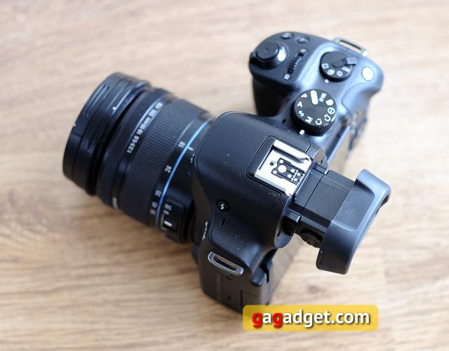 Обзор беззеркальной камеры Samsung NX30-5