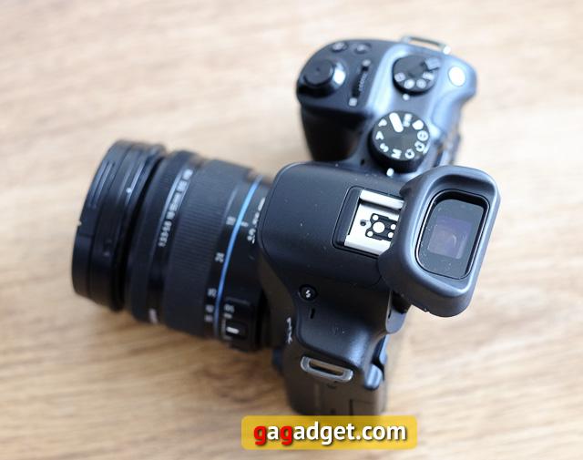 Обзор беззеркальной камеры Samsung NX30