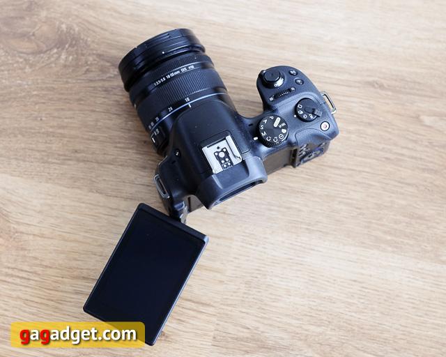 Обзор беззеркальной камеры Samsung NX30-4