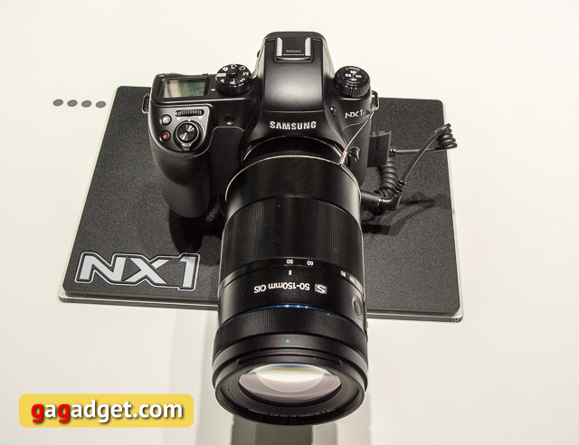 Photokina 2014. Samsung NX1 своими глазами