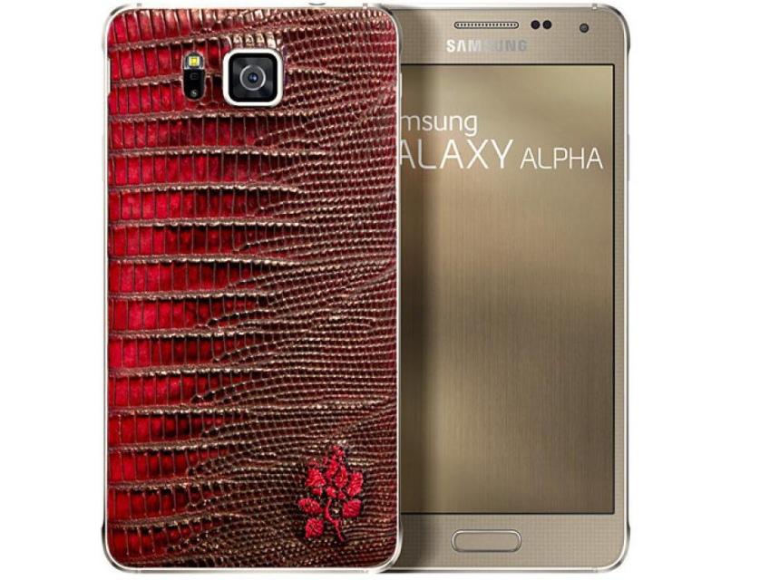 Samsung с французскими производителями обуви выпустят Galaxy Alpha с кожаным задником