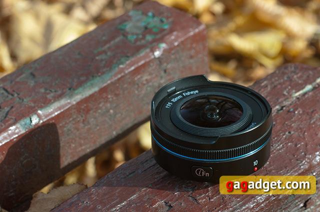 Обзор объектива Samsung NX 10mm f/3.5 (F10ANB) типа «рыбий глаз»