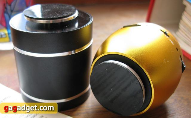 Парный обзор вибрирующих колонок Sanyoo D1BT и Sanyoo Egg-2