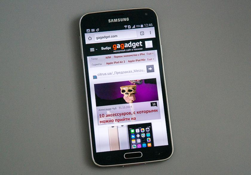 Знакомые всё лица. Пара слов о Samsung Galaxy S5 Duos