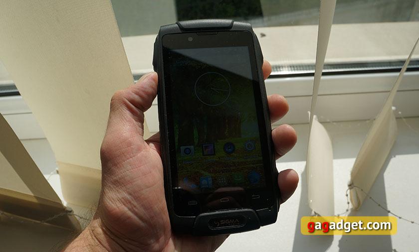 Обзор защищенного смартфона Sigma mobile X-Treme PQ30-15
