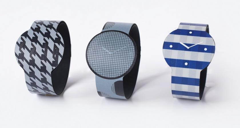 Sony показала цветные часы на электронной бумаге