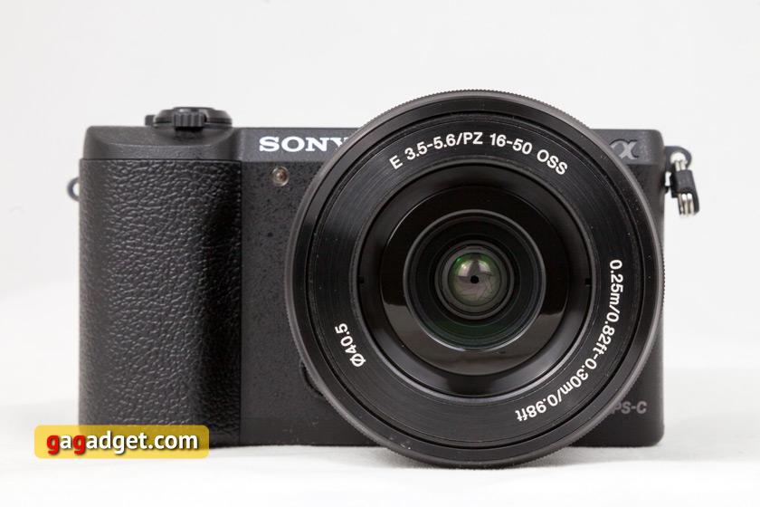 Обзор беззеркальной камеры Sony 51 : маленький брат