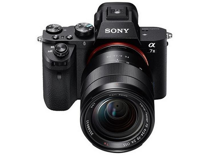 Sony A7 II: полнокадровая беззеркальная камера со встроенной 5-осной стабилизацией изображения