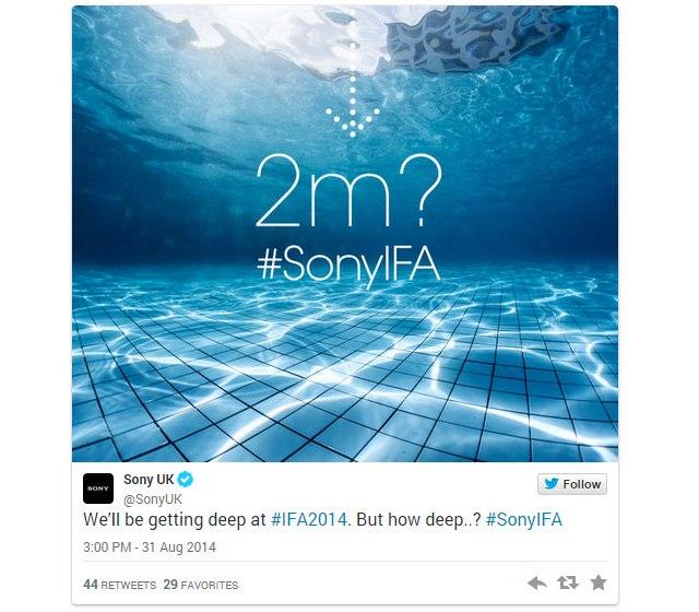 Sony покажет на IFA 2014 носимые устройства SmartWatch 3 и SmartBand Talk