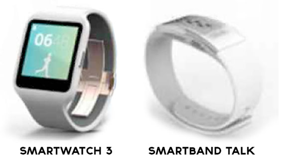 Sony покажет на IFA 2014 носимые устройства SmartWatch 3 и SmartBand Talk-2