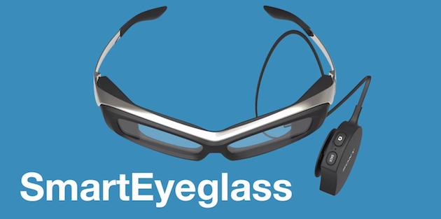 Sony создает конкурента Google Glass — умные очки SmartEyeglass