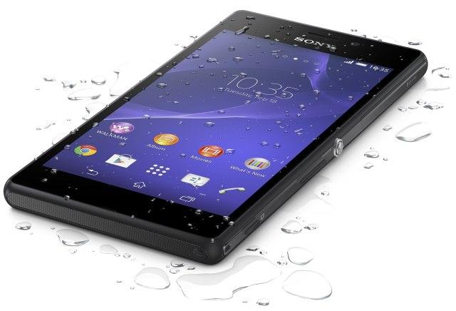 Sony выпустила смартфон Xperia M2 Aqua с самой высокой степенью защиты