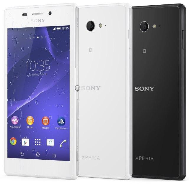 Sony выпустила смартфон Xperia M2 Aqua с самой высокой степенью защиты-2