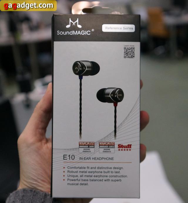 Обзор наушников SoundMAGIC E10-2
