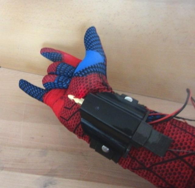 Как сделать аппарат как у человека паука