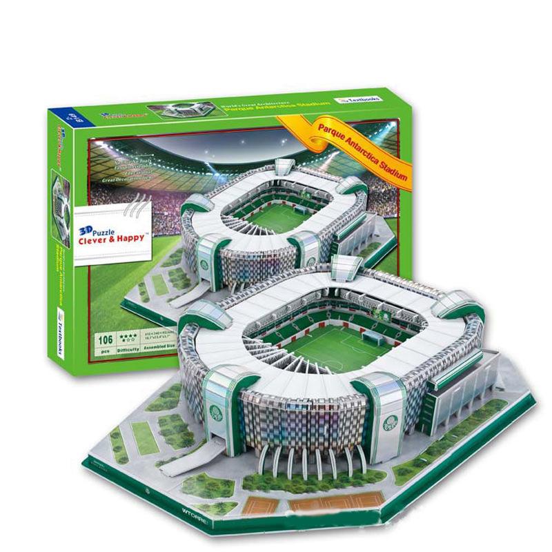 Головоломка-макет стадиона