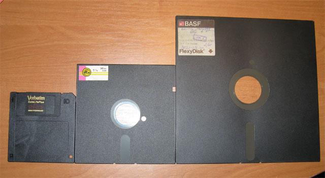 Эволюция компьютерных носителей информации-12