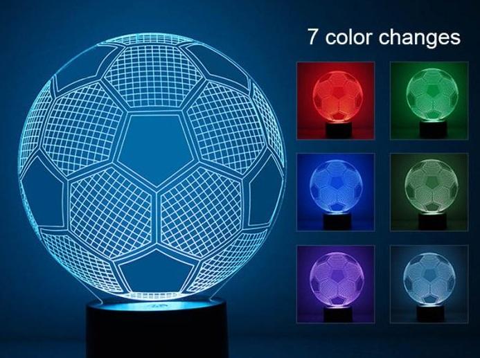 Светильник в виде мяча