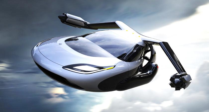 Концепт беспилотного летающего автомобиля Terrafugia TF-X