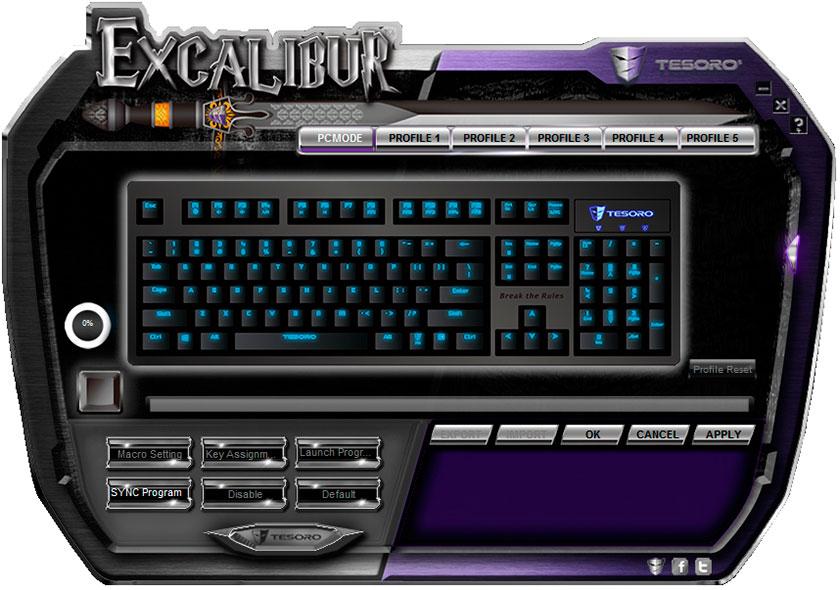 Обзор механической клавиатуры начального уровня Tesoro Excalibur Red Switch-9