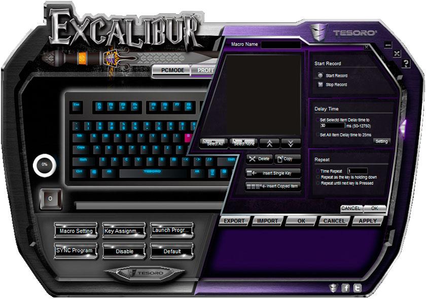 Обзор механической клавиатуры начального уровня Tesoro Excalibur Red Switch-12