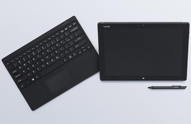 Vaio показала прототип гибридного планшета напоминающего Microsoft Surface Pro 3