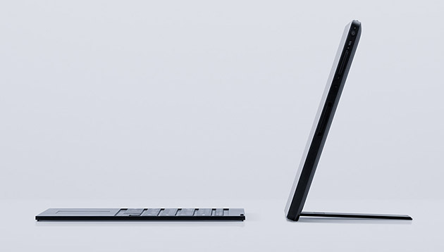 Vaio показала прототип гибридного планшета напоминающего Microsoft Surface Pro 3-2